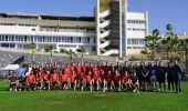 El Southampton FC, de Premier League, se concentra en el Tenerife Top Training