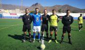 Los jugadores de Marino, Tenisca, Tamaraceite y San Fernando, juntos en Deporpress