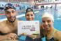 Michelle Alonso, Judit Rolo y Faustino Afonso integrantes de la Selección Española en Portugal