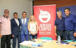 Pérez Lima transmite en Arona la importancia del juego limpio