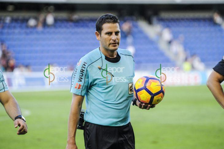 El árbitro de hace siete días, para el Tenerife- Girona