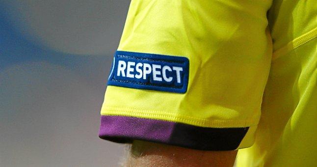 Los árbitros pararán los partidos en el minuto cinco