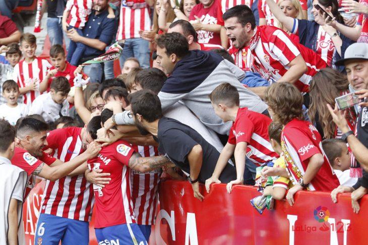 [Crónica Segunda] Sporting, Numancia y Cádiz mandan