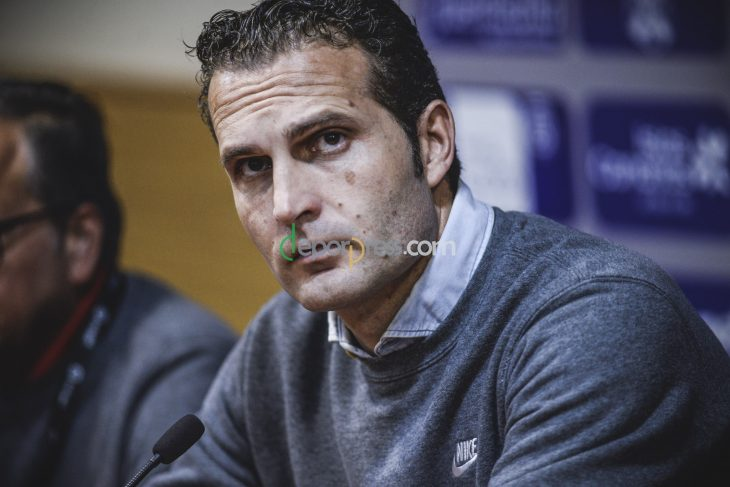 Ruben Baraja llega este lunes