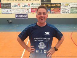 Óscar Orellana, entrenador invitado al 19º Campus Élite Arona 2018
