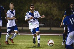 Los jugadores del Tenerife B, confiados en