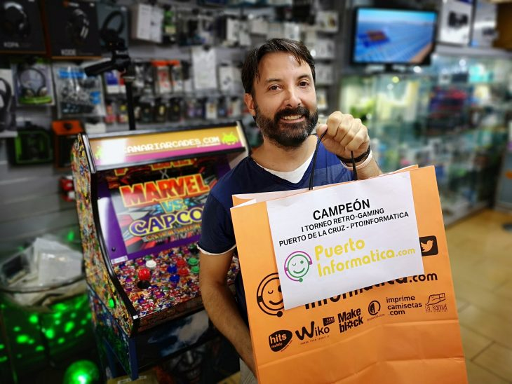 Se disputa la final del I Torneo Retro-Gaming Puerto de la Cruz
