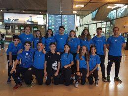 13 pelotaris nautas, presentes en el Torneo Nacional de Promoción de Frontenis