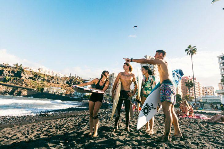 Playa de Martiánez acogerá el Campeonato de Canarias de Surf Sub 18