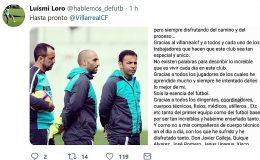 """El """"hasta pronto"""" de un ex del Tenerife"""