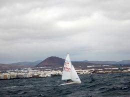 La 1ª Regata Clasificatoria 420 concluye satisfactoriamente en Arrecife