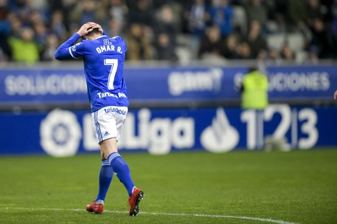La lesión de Omar Ramos tras enfrentarse al Tenerife