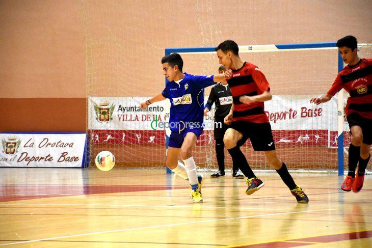 Fotogalería del futsal base del 19 de enero