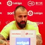 """Javi Jiménez: """"Hay confianza para sacar los tres puntos en Tenerife"""""""