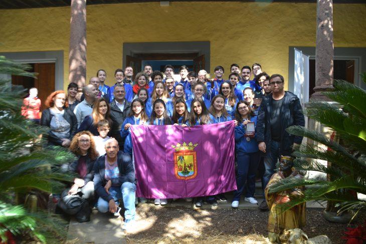 El Ayuntamiento de La Laguna reconoce la labor de cantera del CV Haris