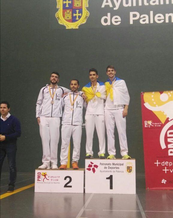 El Círculo acoge el Campeonato de Canarias Sub-22 de Frontenis Olímpico y Paleta Goma