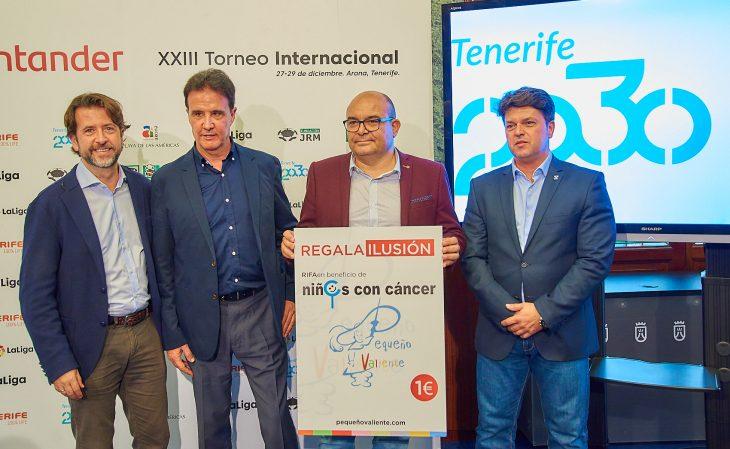 Tenerife obtuvo un retorno 4,2 millones de euros con el XXIII Torneo Internacional LaLiga Promises Santander