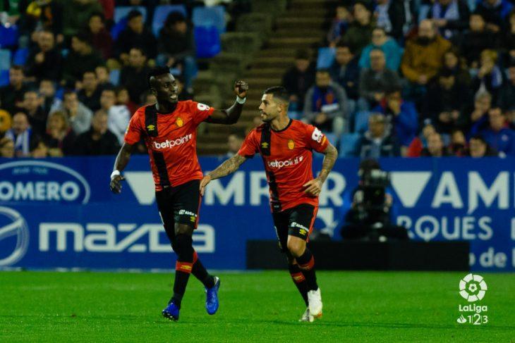 El 'Pichichi' del Mallorca supera los goles de todos los delanteros del Tenerife