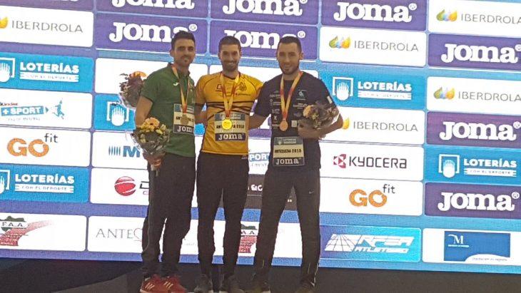 Siverio se cuelga el bronce en el Campeonato de España absoluto