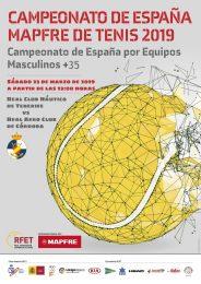 El equipo de Veteranos +35 del RCNT participará en el Campeonato de España Mapfre de Tenis