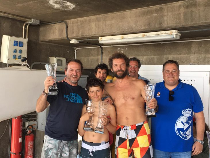 Joaquín Botella y David Arozena, subcampeones en la Copa de Canarias de Snipe