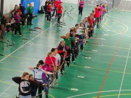 La Laguna celebra la 1ª edición del Trofeo por Equipos Macaronesia de tiro con arco