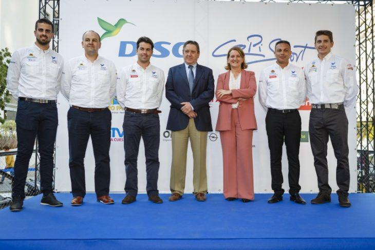 DISA Copi Sport presenta su formación para 2019