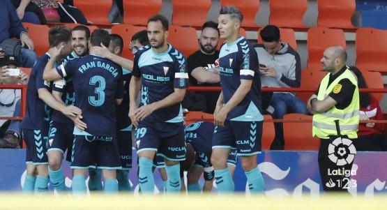 El Albacete mete miedo antes de recibir al Tenerife