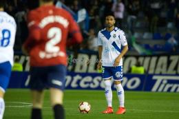 Dos Santos debuta como blanquiazul en el Heliodoro