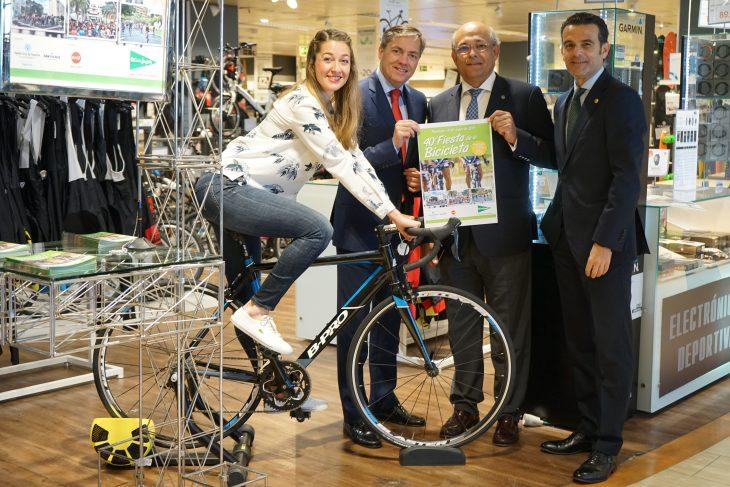 La fiesta de la bicicleta «El Corte Inglés» cumple 40 ediciones