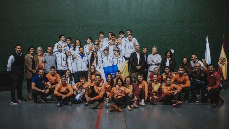 Tres títulos para la Selección Canaria en el Campeonato de España Sub-22