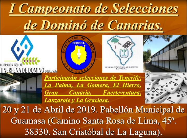 La Laguna celebra el I Campeonato de Selecciones de Dominó de Canarias