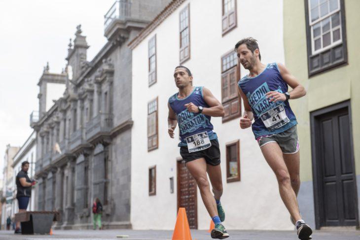 La Media Maratón Ciudad de La Laguna supera los 1.200 corredores