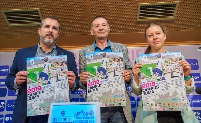 El Tenerife presenta un nuevo Campus Suma