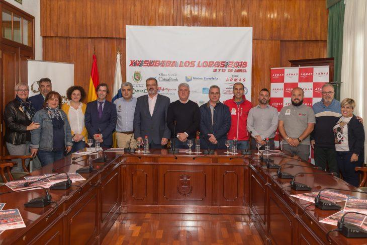 Presentada en Arafo la XV Subida Los Loros – Trofeo Naviera Armas