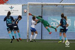 La UDG Tenerife sigue intratable (1-0)
