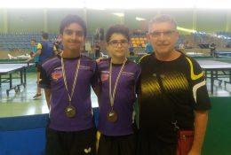El Club lagunero Celada, se colgó dos medallas en el Campeonato de Canarias Alevín