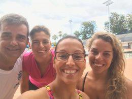 Tres leyendas de la natación olímpica y paralímpica, juntas hoy en Tenerife