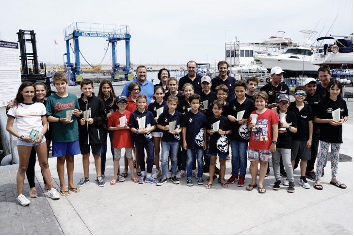 Grandes victorias de los regatistas nautas en el Trofeo UNICEF