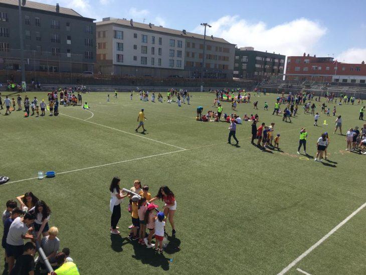 El Colegio La Salle celebra una jornada deportiva en La Verdellada