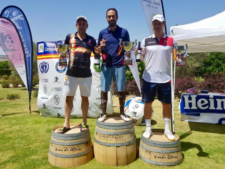 """Canarias FootGolf """"conquista"""" Calatayud con un Iván Abreu colosal"""
