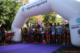 Cerca de 800 participantes tomaron las calles de La Laguna