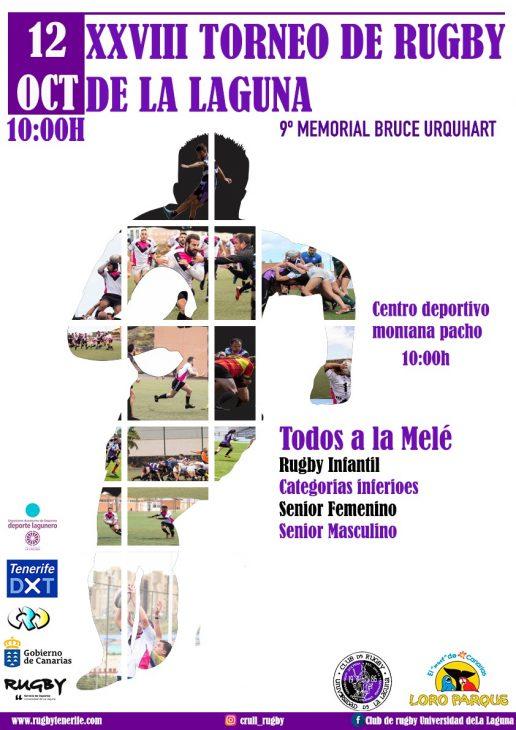 El Torneo de Rugby de La Laguna celebra su vigésima octava edición