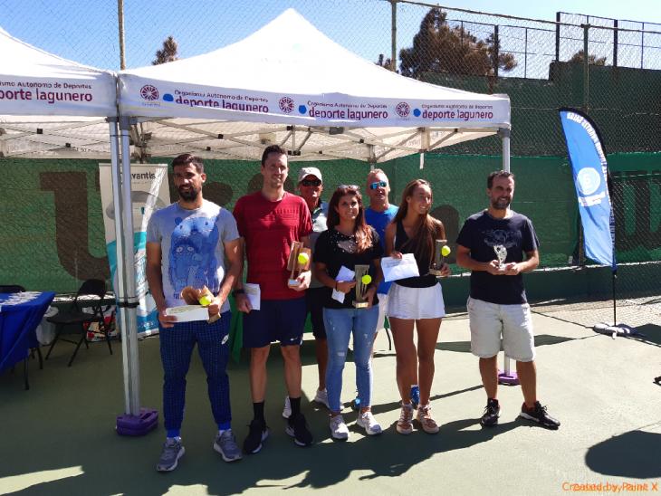 El tradicional Open de Tenis lagunero ya tiene vencedores