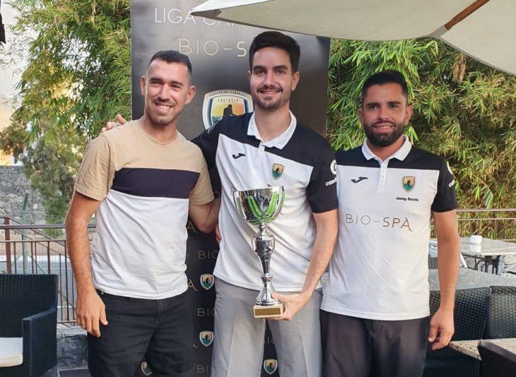 Fran Niño, campeón de Canarias de FootGolf 2019
