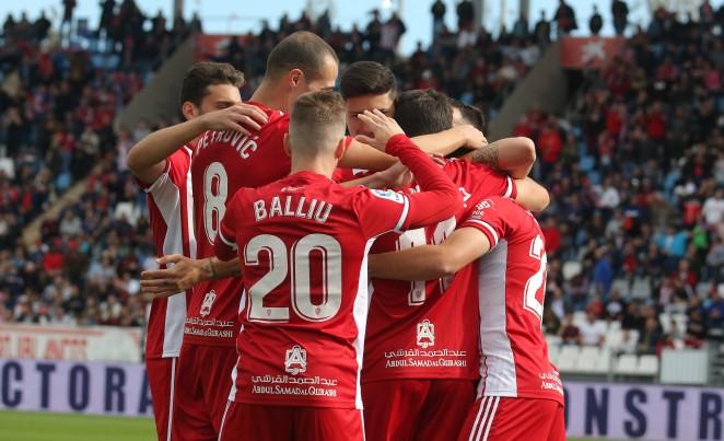 El Almería permanecerá concentrado durante el playoff