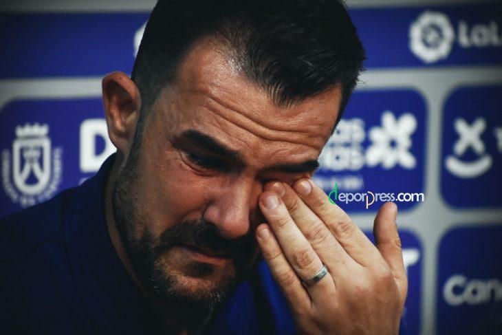 Garai se despide entre lágrimas:
