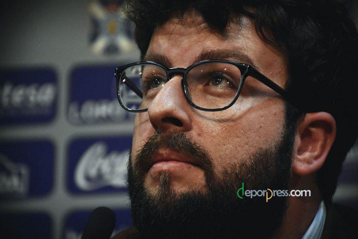 Víctor Moreno, fuera del Tenerife