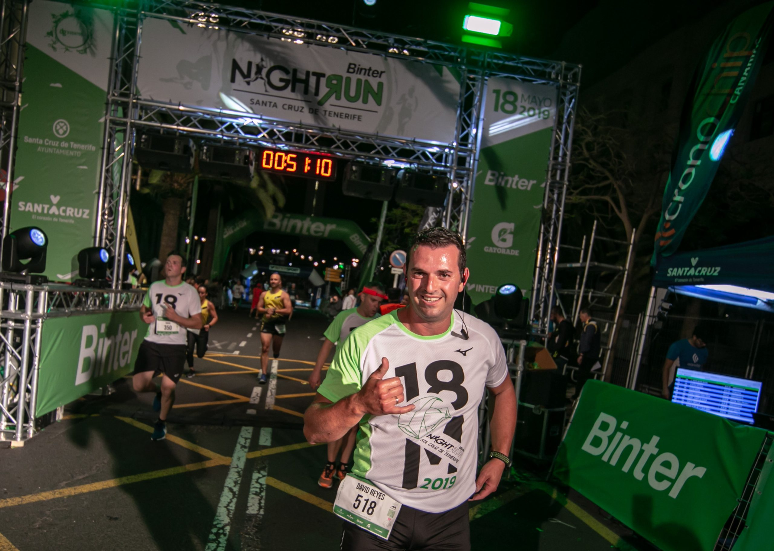 La Binter NightRun ya supera los 650 inscritos