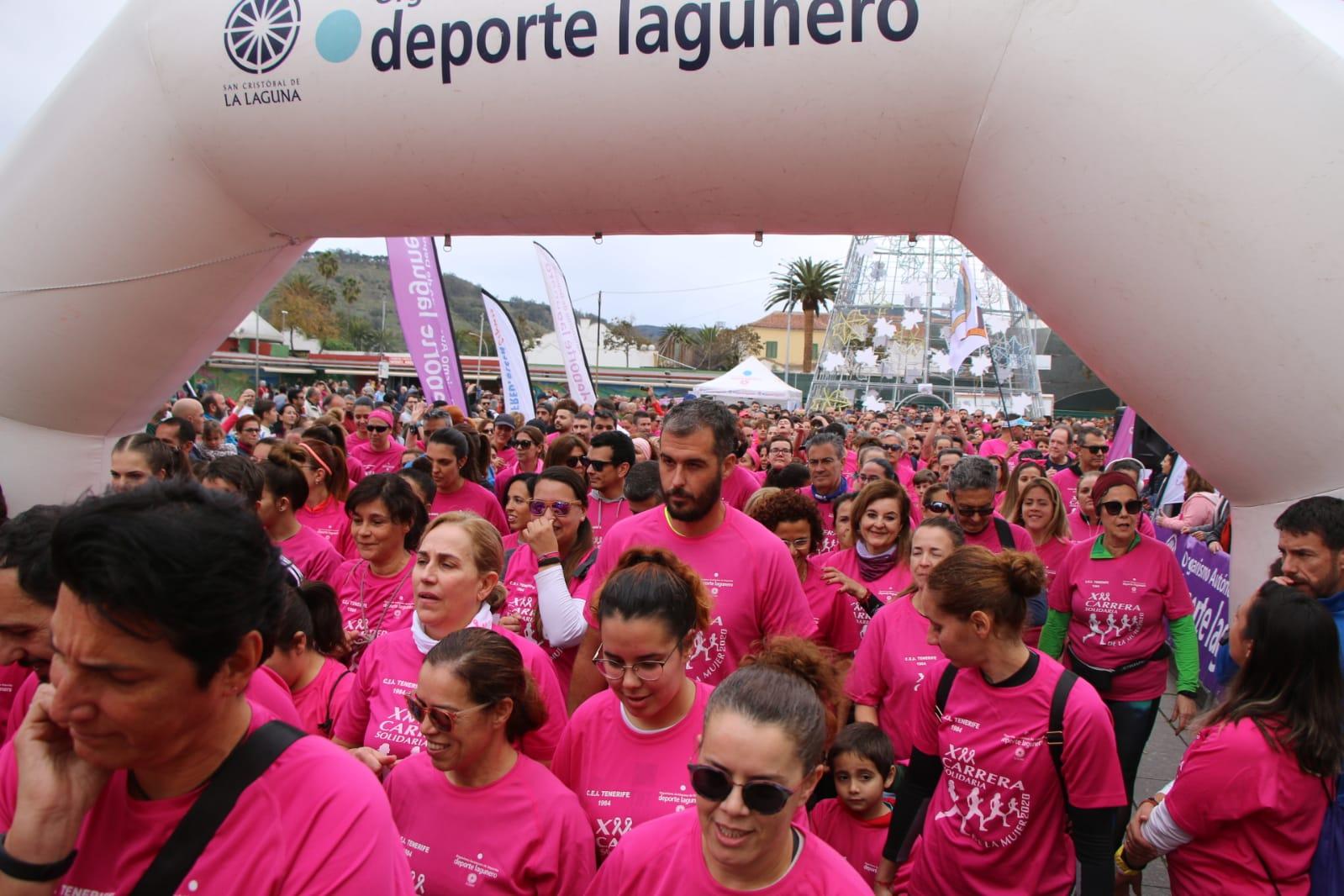 La Carrera de la Mujer bate récord de participantes